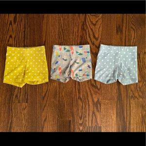 Set of 3 Mini Boden Tumble Shorts